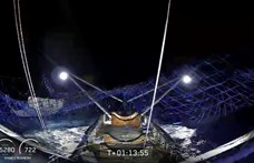 Összejött Elon Musk nagy mutatványa, a hálója elkapta a Földre visszahulló rakétadarabot