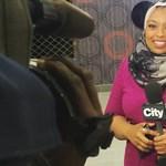 Tévétörténelem: képernyőre került az első hidzsábot viselő híradós Kanadában