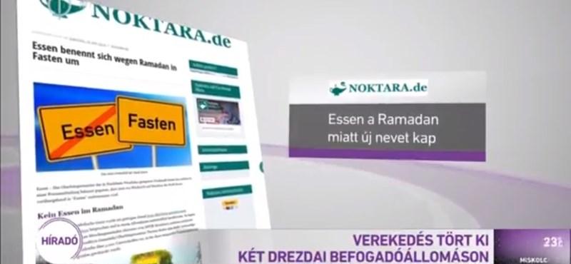 Jót röhögtek a német vicclapnál a magyar köztévén, miután átvette az álhírüket