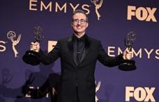 Az Orbánt is kifigurázó showman a Trónok harcának köszönte meg az újabb Emmy-díját