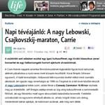 Napi tévéajánló: A nagy Lebowski, Csajkovszkij-maraton, Carrie