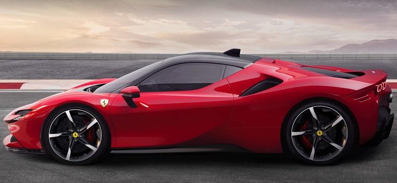 Itt a vadonatúj Ferrari, az 1000 lóerős plugin hibrid SF90 Stradale