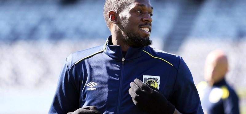 Pénteken eldőlhet, lesz-e focista Usain Boltból