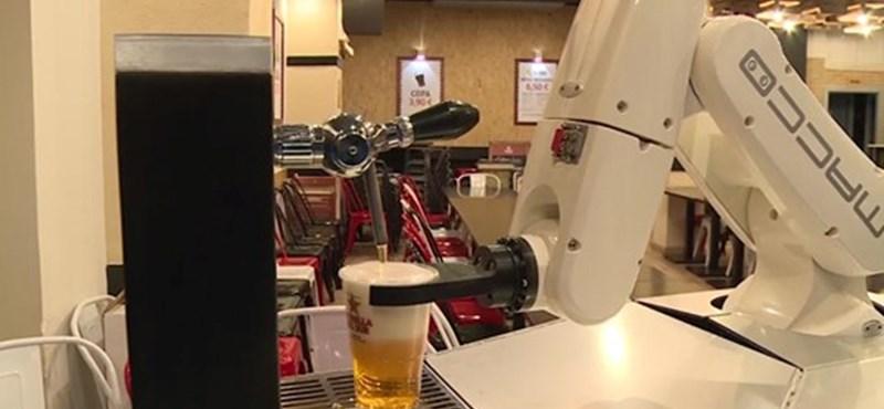 Mit szólna ahhoz, ha egy robot csapolná a sörét?