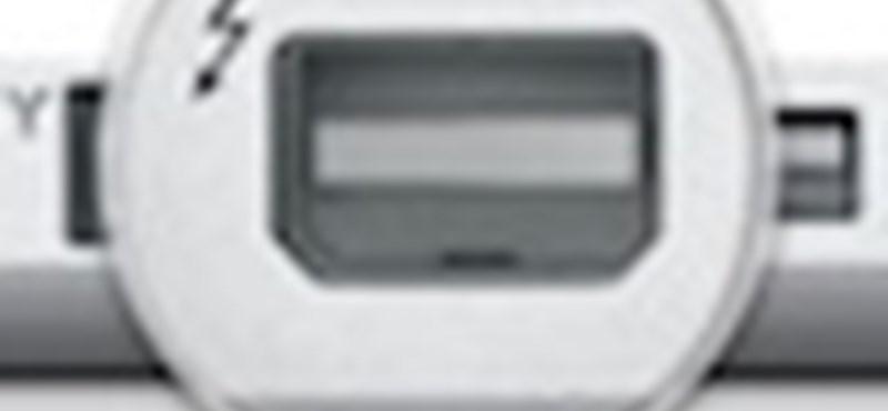 Itt vannak az új MacBook Pro gépek, Thunderbolt csatlakozással!