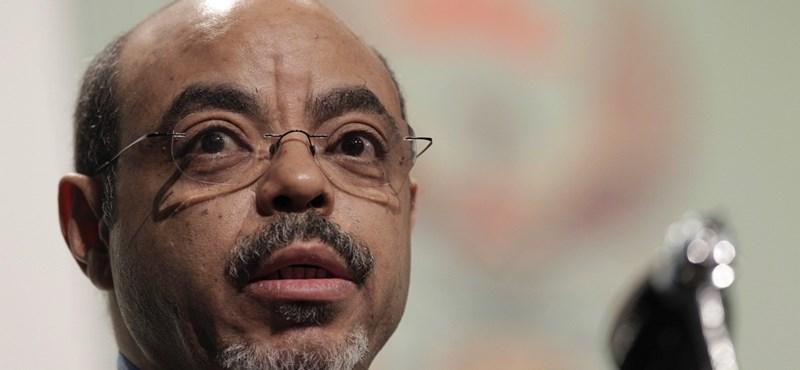 Meghalt az etióp miniszterelnök