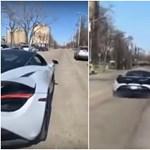 Videó: Nővére McLarenjét törte össze egy 19 éves srác