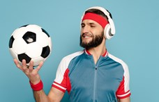 A zene miatt is jobban játszanak a focisták