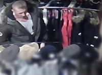 Nem látta, hogy figyeli a kamera, így lopott - videó