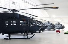 Megkapott négy új helikoptert a Honvédség