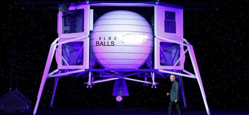 Elon Musk szerint Jeff Bezos űrhajója heregörcs