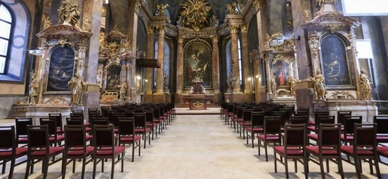 """Katolikus blog: """"Szentélyrombolás a győri székesegyházban"""""""
