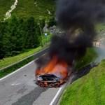 Video de McLaren desde la montaña quemada hasta el polvo