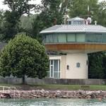 Bezavarhat a balatoni viharjelzésnek a siófoki obszervatórium mellé tervezett épület