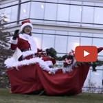 Masírozó, felrúghatatlan robotkutyákkal kíván boldog karácsonyt a Google – videó