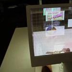 A jövő felhasználói felülete: helyet cserél a képernyő és a billentyűzet [videóval]