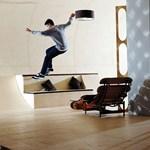 Egy ház, amiben tényleg lehet gördeszkázni - fotók, videó