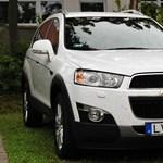Chevrolet Captiva teszt: a terepet nem szereti, de a 200-as tempót jól bírja