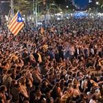 Ismét százezrek tüntettek Barcelonában