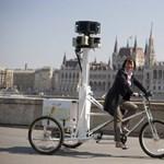 Fotók: Budapest utcáin cirkált a Google 3 dimenziós fényképezőgépe