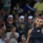 Serena Williams vereséggel tért vissza