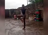 Megőrülnek a celebek a sárban balettozó 11 éves nigériai fiúért
