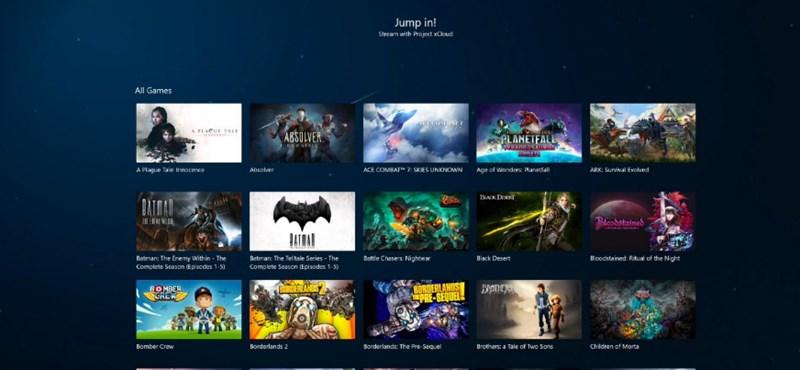 Hamarosan érkezhet PC-kre a Microsoft játékstreaming-szolgáltatása