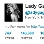 Twitter rekord: tízmillió követő felett Lady Gaga