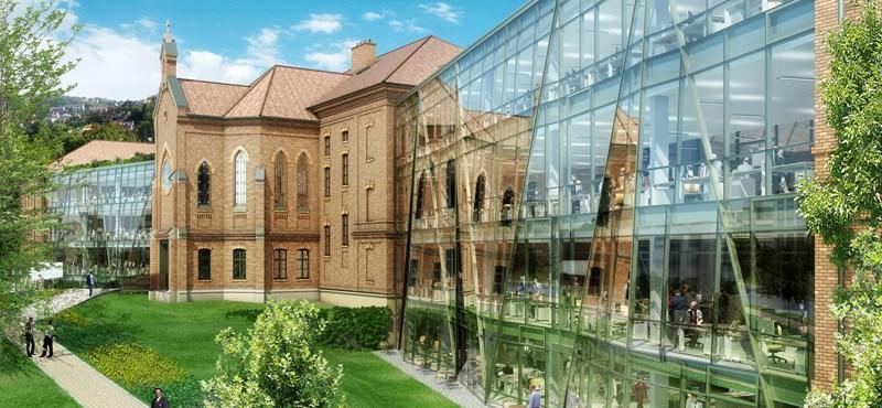 Európai díjat kapott egy budapesti irodaház