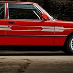 1982-be repít vissza ez a gyönyörű szuperritka eladó Alpina 3-as BMW